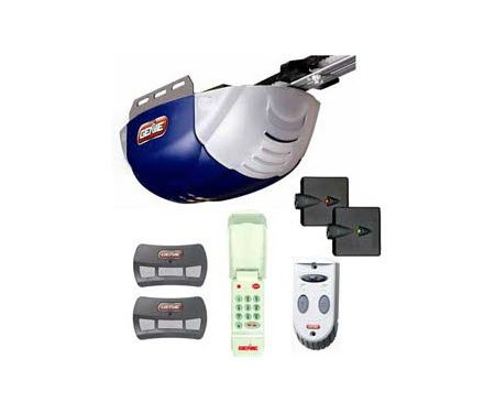 genie blue garage door opener