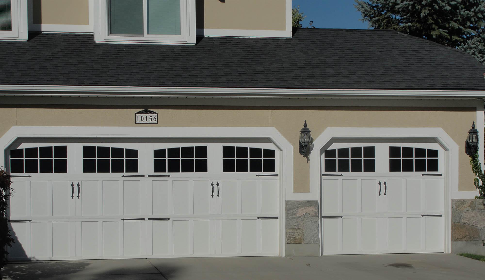 GABLE STYLE GARAGE DOORS