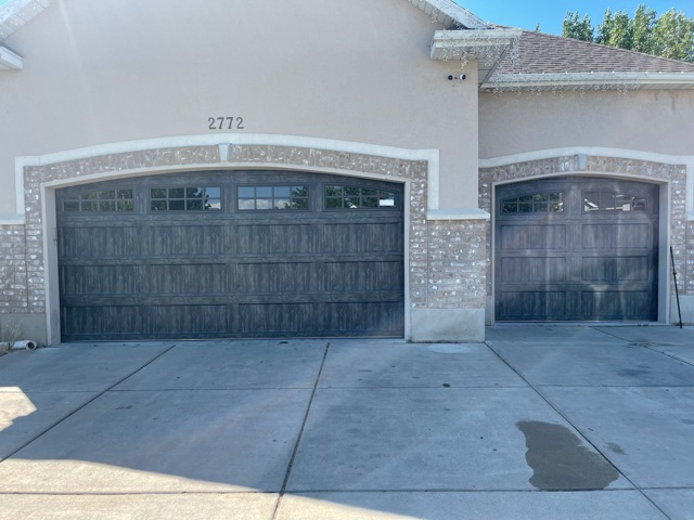 New Style and Color Garage Door